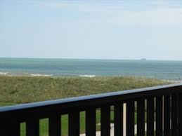 beautiful ocean view at cocoa beach