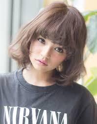 髪型前髪のセルフカット ヘアカタログ銀座の美容室afloat Japan