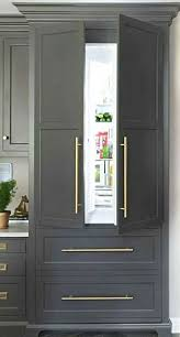 refrigerator that looks like a cabinet. Modren That Thanks To This Growing Trend Youu0027ll See More Concealed Coffee Stations  Microwave Drawers And Refrigerators Disguised With Cabinet Fronts Like  Inside Refrigerator That Looks Like A Cabinet