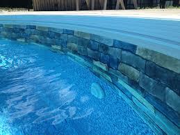 brick pool liner