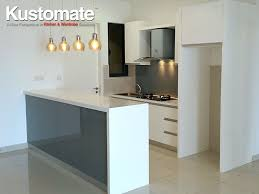 modern cabinet design. U Shape Modern Kitchen Design Cabinet