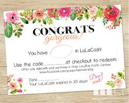 printable coupon cash coupon lulacash moolah roe bucks printable dollar gift card gift certificate voucher best floral design ho approved printable
