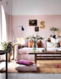 Pale Pink Living Rooms Ways to Make this Color Work