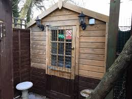 outside office shed. Garden Cabin/Office/Storage 1 Inch Thick Cladding On Outside And Half Inside Office Shed