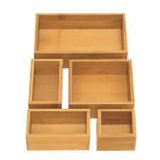 wooden desk drawer organizer.  Organizer Seville Classics Bamboo Drawer Organizer Boxes And Wooden Desk