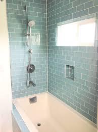 Glass Tile Bathroom Designs Simple Design
