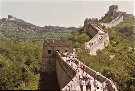 great wall of cultural landscape world monuments fund tourists at the great wall 2000