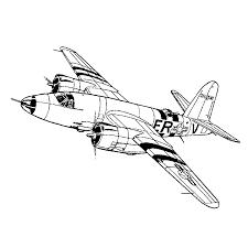 Vliegtuigen Uit De 2e Wereldoorlog Kleurplatenpaginanl