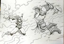 15 Hulk Drawing Thor For Free Download On Ayoqqorg