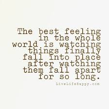 Best Feeling In The Whole World Live Life Happy Inspirational Classy Im Happy Quotes