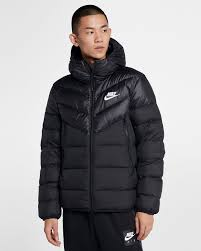 Nike Sportswear Windrunner Down Fill Hooded Puffer Jacket