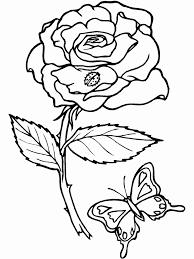 Kleurplaten Bloemen En Vlinders Inspirerend Bloemen Kleurplaten Hard