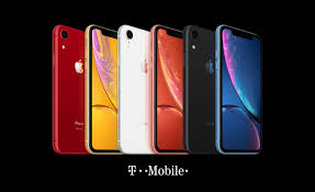 the iphone xr ing to t mobile for 10 month with trade in