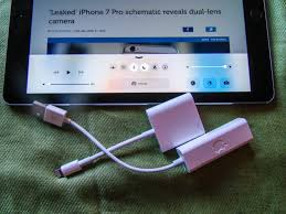 when wi fi is out use ethernet to get with your ipad