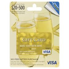 visa gift card 20 500