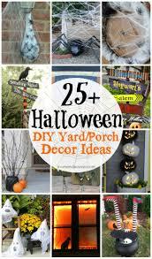 Cordial Diy Halloween Outdoor Decor Ideas Diy Halloween Yard Porch Decor  Ideas in Outdoor Decor Ideas