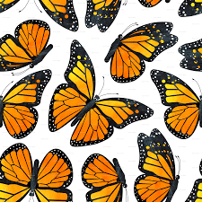Butterfly Patterns Enchanting Monarch Butterfly Watercolor Pattern Wallpaper Jannasalak