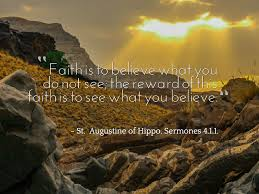 St Augustine Of Hippo Quotes Extraordinary St Augustine Of Hippo Quote About Faith Ideal Quotes