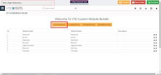 Vtiger 7 Module Designer Create Custom Module In Vtiger 7 Vtiger Experts