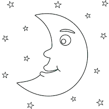 moon coloring pages coloring pages of moon coloring pages of the moon goodnight moon coloring pages