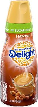 Coffee creamer, gourmet, sugar free, french vanilla. International Delight Sugar Free Hazelnut Coffee Creamer 32 Fl Oz Bottle Hy Vee Aisles Online Grocery Shopping
