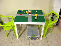 round lego table with drawers ideas