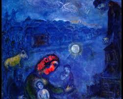 blue village 1975 marc chagall