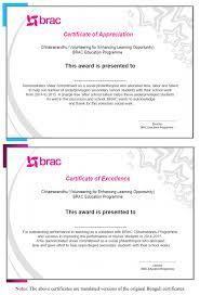 Certificate Of Appreciation Volunteer Work Non Financial Incentives For Volunteer Tutors B Hub