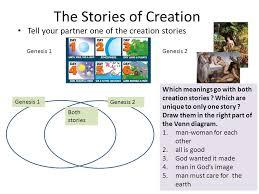 Genesis 1 And 2 Venn Diagram
