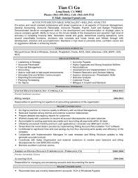 Resume Samples For Accounts Receivable Manager Refrence Accounts For