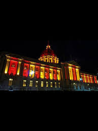 49er Lights 49er Colors City Niners Girl San Francisco