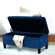 light blue ottoman. Light Blue Ottoman Velvet Bench Storage Small Size Of Bedroom Tufted End Bed Upholstered .