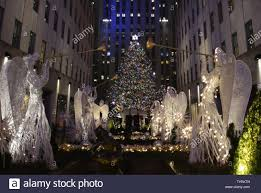 Rockefeller Center 2016 Tree Lighting The Christmas Tree Is Lit For The First Time Of The Season