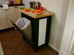 Kitchen Cabinet Garbage Can