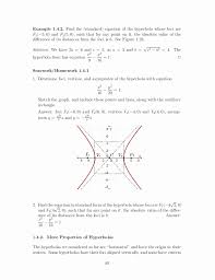 equation of a circle in standard form examples new pre calculus senior high school teaching guide
