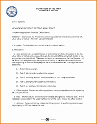 Memorandum Format Army Template Word Of Agreement Navy For Record