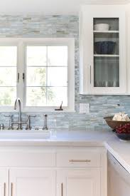 kitchen backsplash. Delighful Backsplash Pearl Tile Kitchen Backsplash On