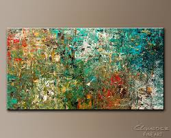 huge large abstract art painting discovery modern colorful modern abstract paintings