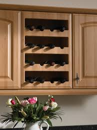 Kitchens With Wine Racks Kitchen Wall Wine Cabinets Cliff Kitchen