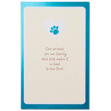 sympathy card pet sympathy card for pet loss with foil walmart com