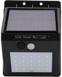Solar Led Lamp Bewegingssensor Zonne Energie Buitenlamp 20 Led Lampen