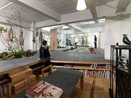 open office architecture images space. natural office love for nature open space showroom integrates an interior garden architecture images n