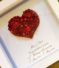 40 Jahrestag Geschenk Rubin Hochzeit 40 Von Lovetwilightsparkles