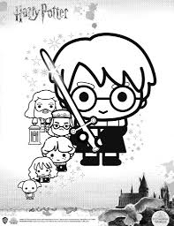 Coloring is a fun way to develop your creativity, your concentration and motor skills while forgetting daily stress. Manage Some Mischief With These Harry Potter Coloring Pages