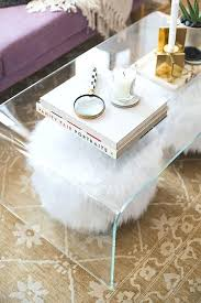 clear coffee tables in acrylic plastic and glass open up small living rooms spaces find more