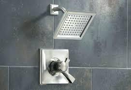 delta dual shower head s commercial