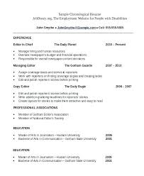 Resume Format In Word Format – Resume Directory