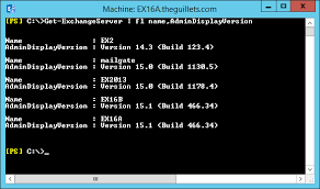 How To Quickly Determine Exchange Server Versions The Expta Blog