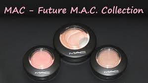 mac future le collection mineralize skinfinish highlighter blushes swatches
