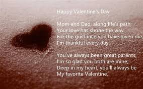 Imágenes De Valentines Day Message For Parents Impressive Valentine Quotes For Parents